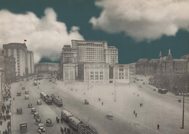 Москва реконструируется